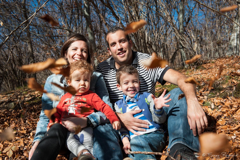 Photo de famille en ext rieur dans la for t for Shooting photo exterieur foret