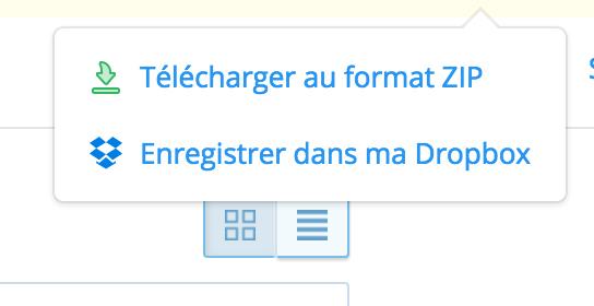 dropbox-telecharger-zip