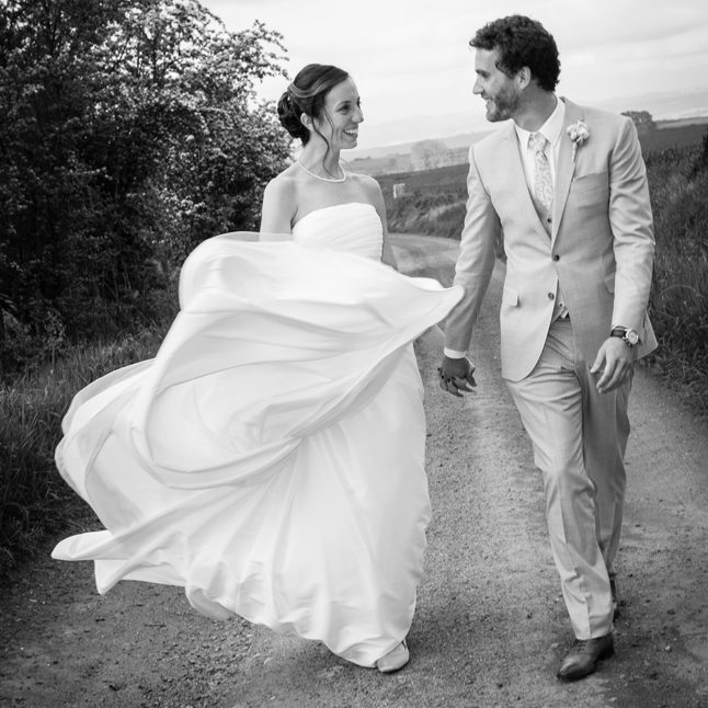 Photographie de mariage au clos du fort a collanges en auvergne