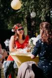photographies des invites lors du vin d'honneur