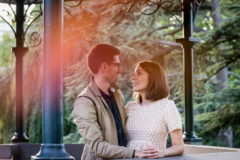 photo de couple au parc bargoin a royat pres de clermont ferrand